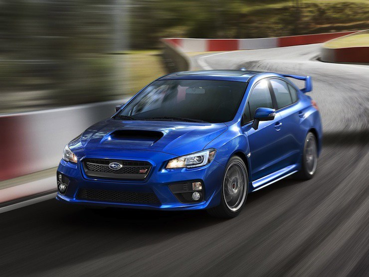 2016 Subaru WRX Unveiled with More Features 740x555