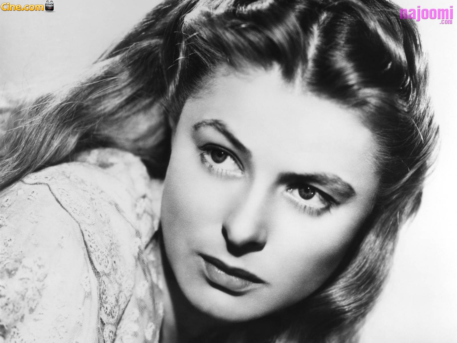 Wallpaper de Ingrid Bergman   CINECOM 1600x1200