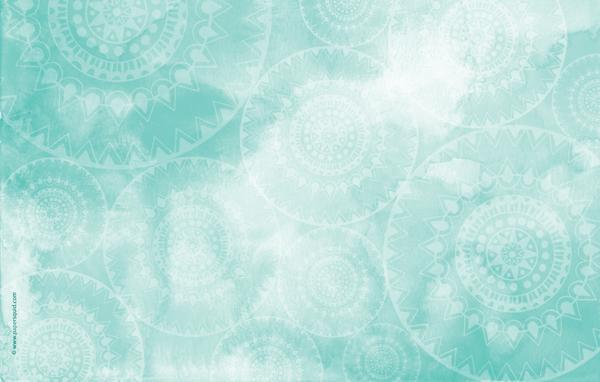 Paper Squid AUGUSTS MANDALA INSPIRED DESKTOP WALLPAPER 600x382