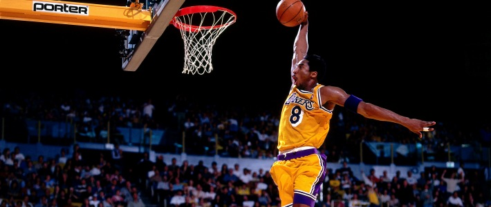 Kobe Bryant Dunk The Art Mad Wallpapers 710x300