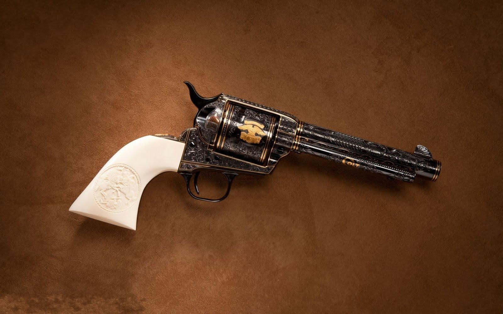 IMGENES Coleccin de armas   Colt revlver 32   Gun wallpaper 1600x1000