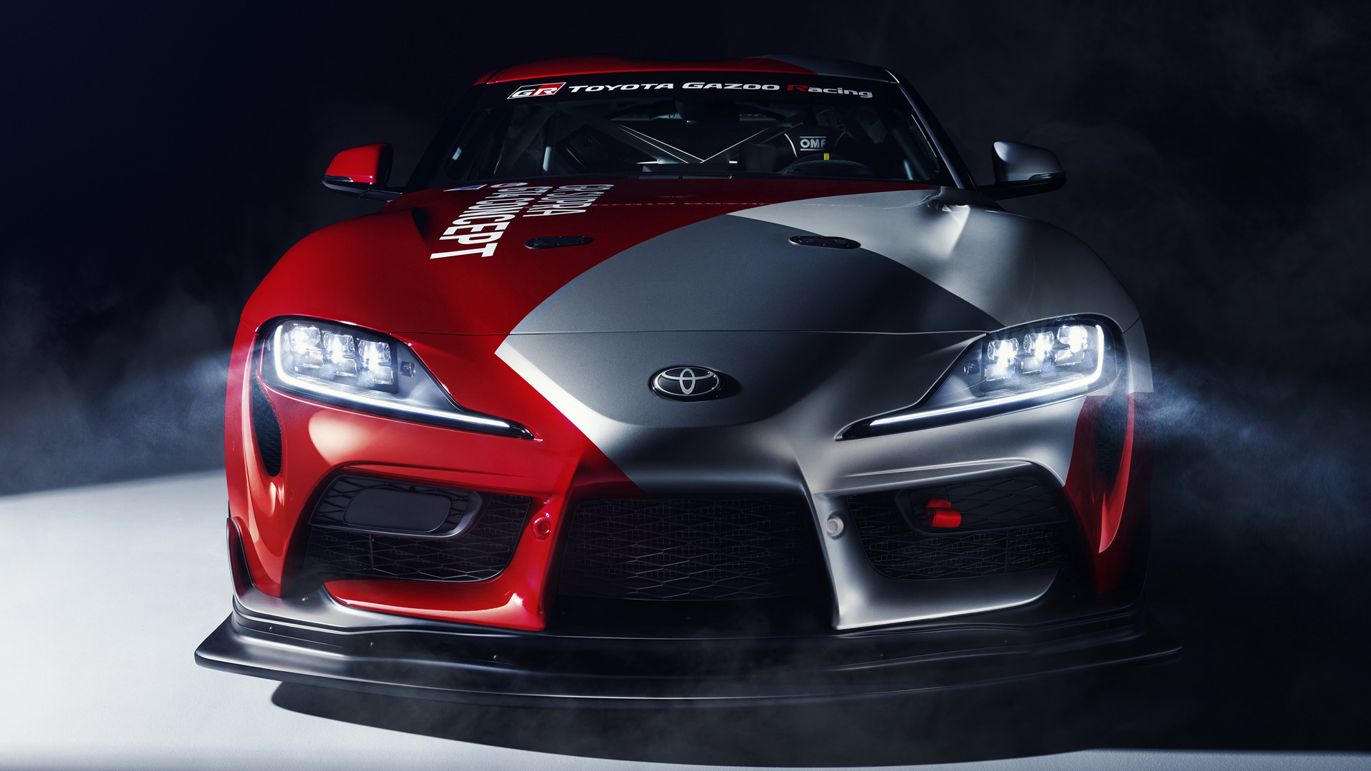 2019 Toyota GR Supra GT4 Concept   Wallpapers and HD Images Car 1920x1080