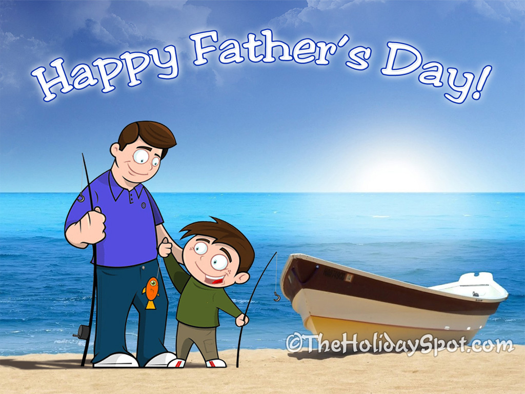 2012 Happy Fathers Day Wallpapers and Cards Video 1024x768