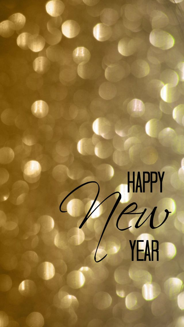 New Years iPhone Wallpaper Happy new year images New year 640x1136