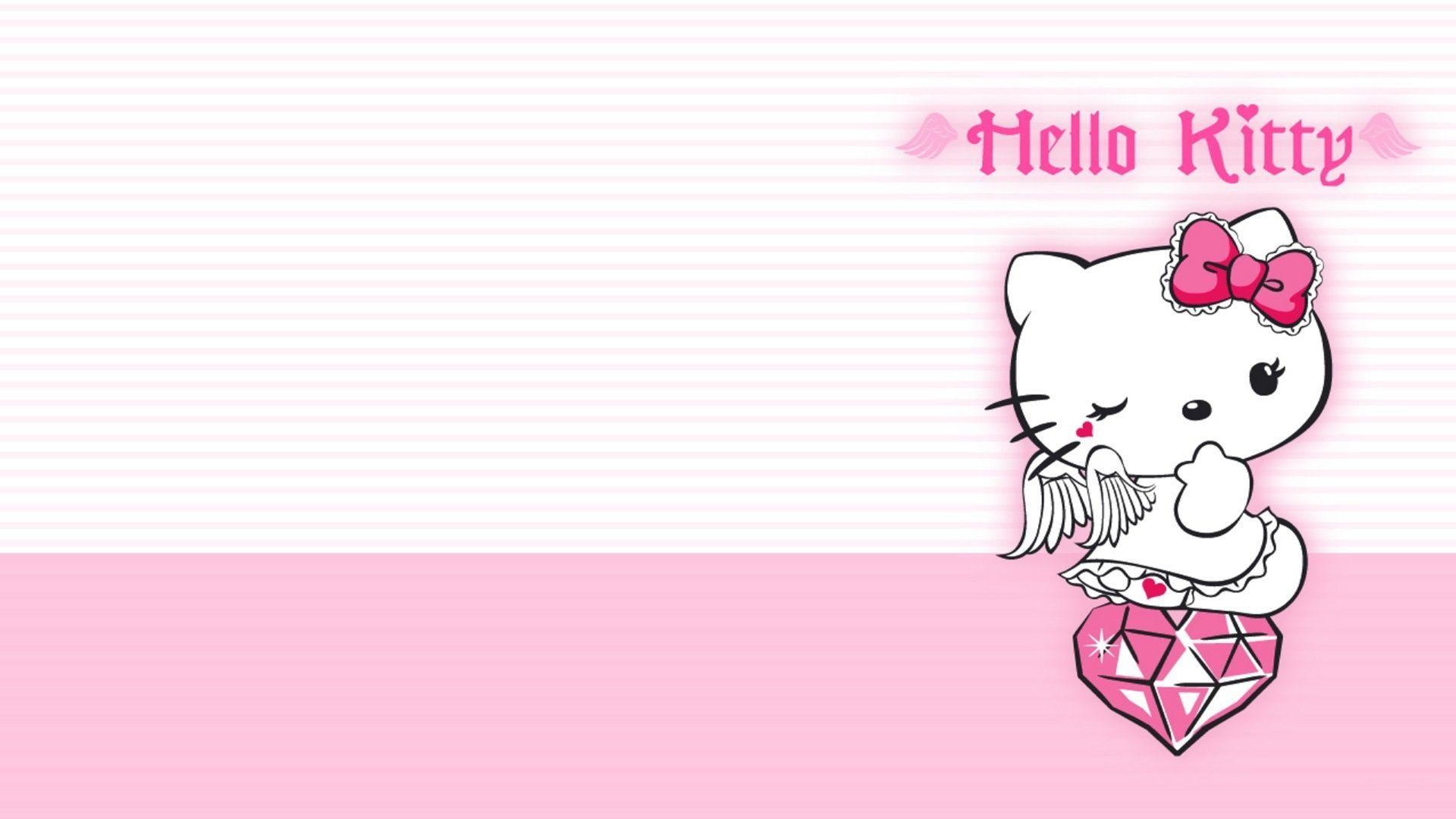 62 ] Hello Kitty Backgrounds For Puters On WallpaperSafari