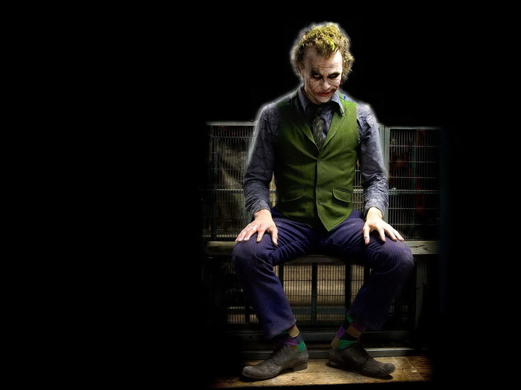 Amazing JOKER heath ledger wallpapers 20jpg The Joker Wallpaper 1024x768