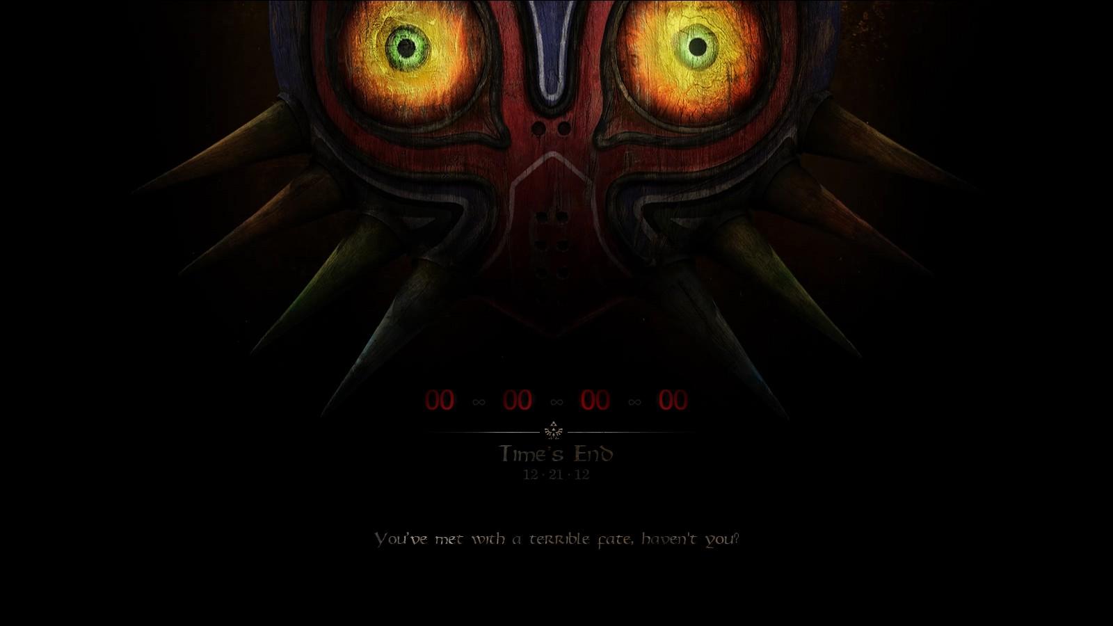 Majoras Mask Skull Kid Wallpaper Masks End Skull Kid The Legend 1600x900