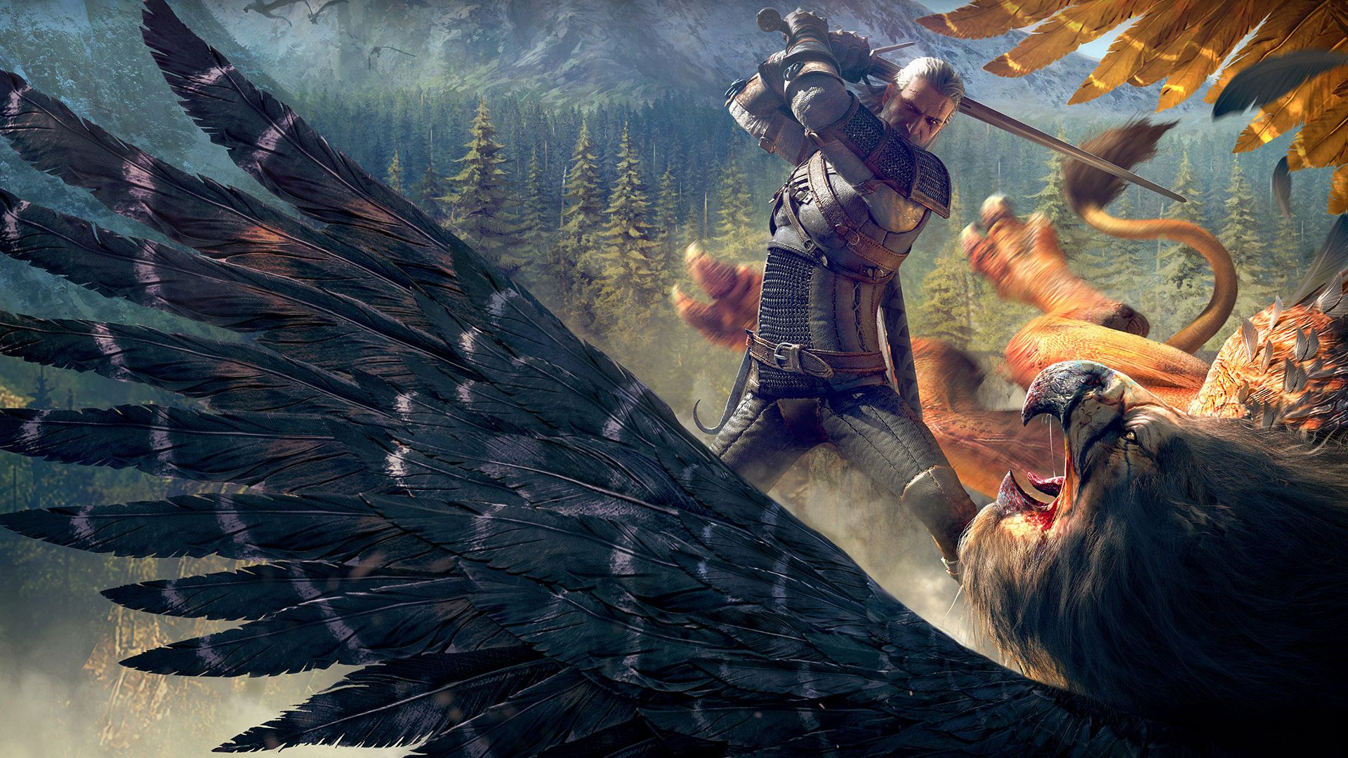 Free Download The Witcher 3 Wild Hunt Witcher Griffin Wallpapers