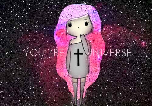 galaxy galaxy hair hipster hipster fashion space star text 500x351