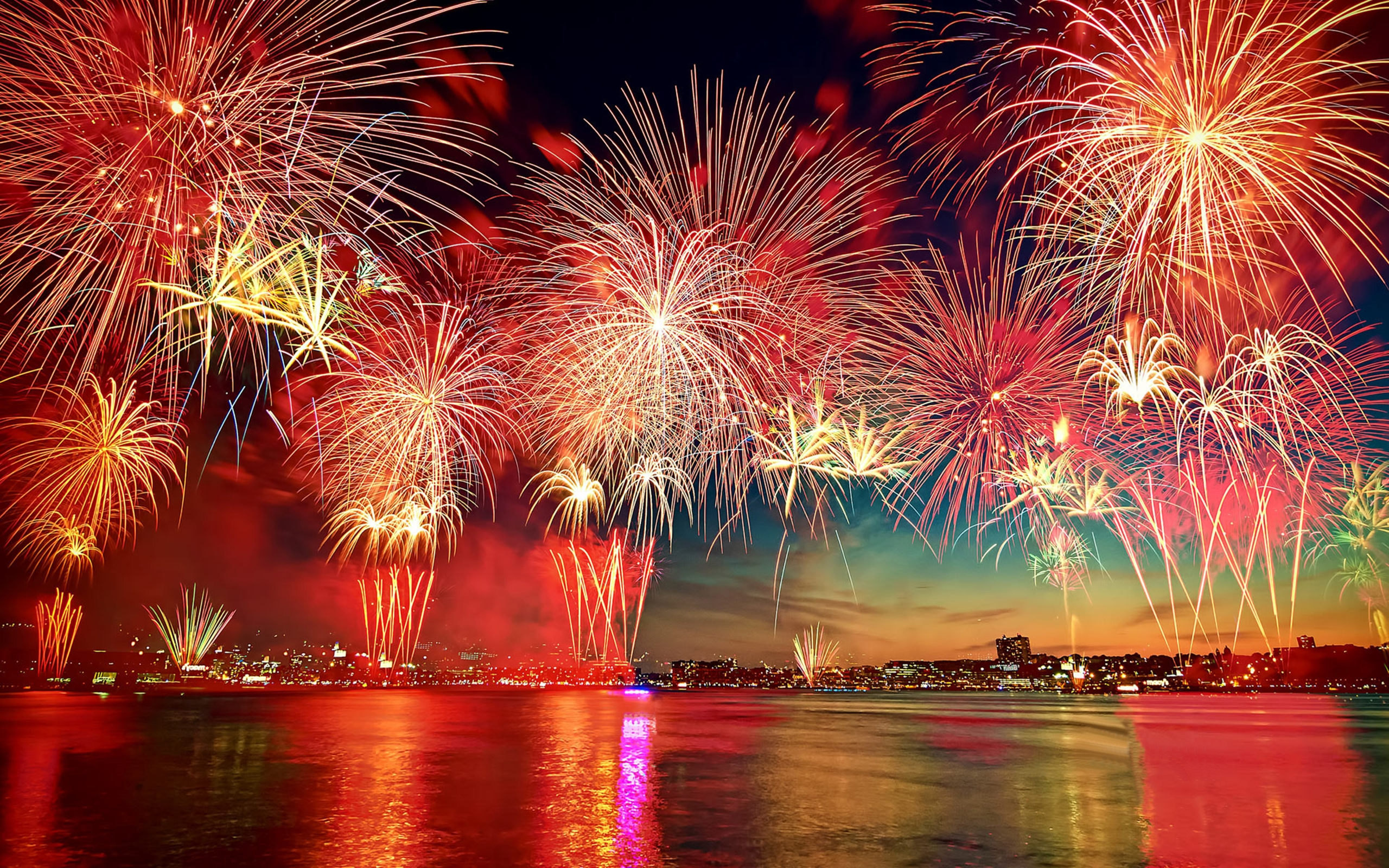 Beautiful New Year Fireworks Wallpapers13com 2560x1600