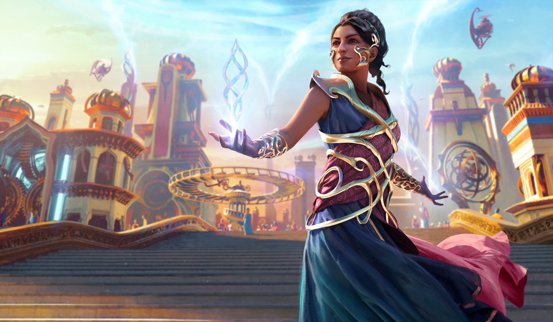 SAHEELI MAGIC THE GATHERING 1920x1120