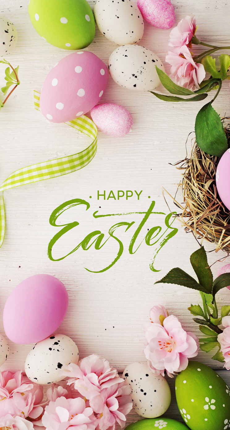 Pin by Sandra Greenwell on Easter decor Easter Easter wallpaper 744x1392