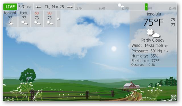 Real Time Weather Wallpaper Wallpapersafari