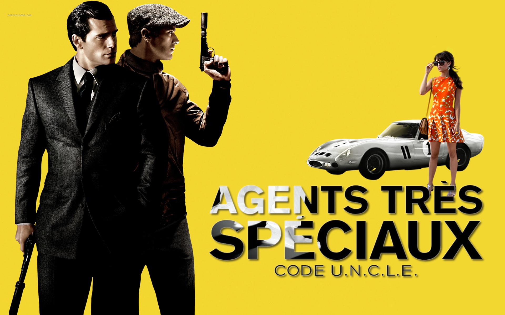 Agents trs spciaux Code UNCLE The Man from UNCLE 1920x1200