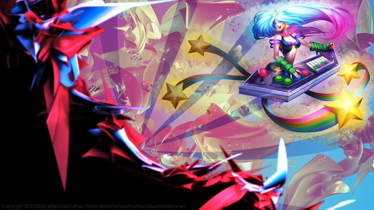 Free Download Lol Wallpaper Arcade Sona By Shao Taisa Fan Art