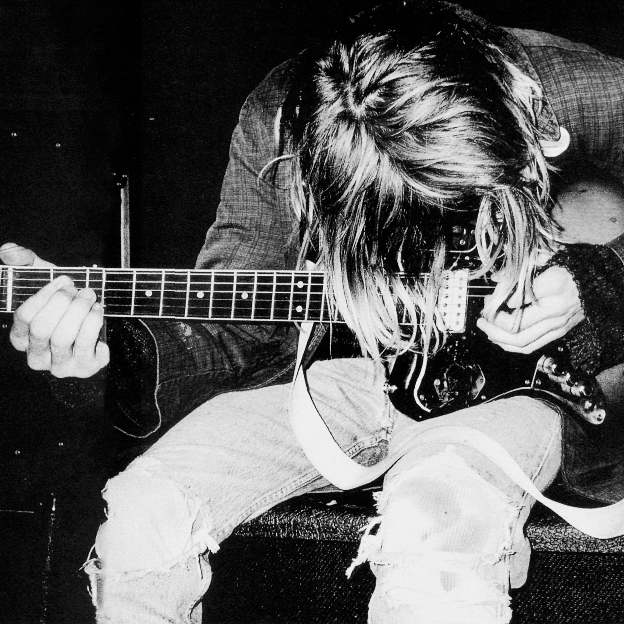 Kurt Cobain Nirvana   iPad Retina Wallpaper for iPhone X 8 7 6 2048x2048