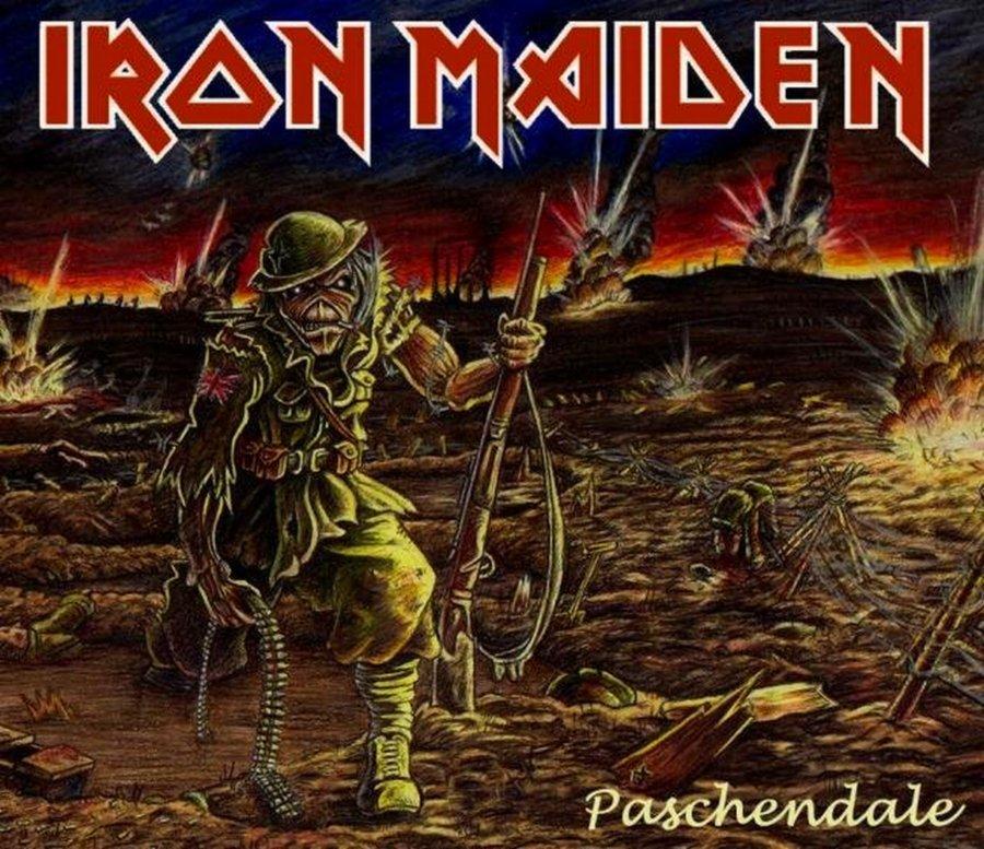 Wallpaper Iphone Iron Maiden: Iron Maiden Logo Wallpaper