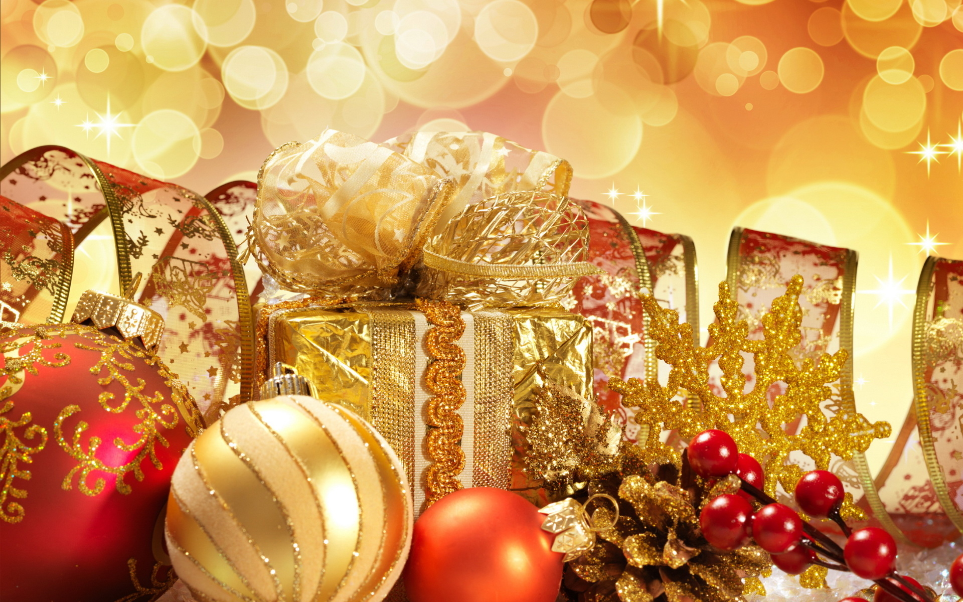 Christmas decorations wallpapers and images   wallpapers 1920x1200