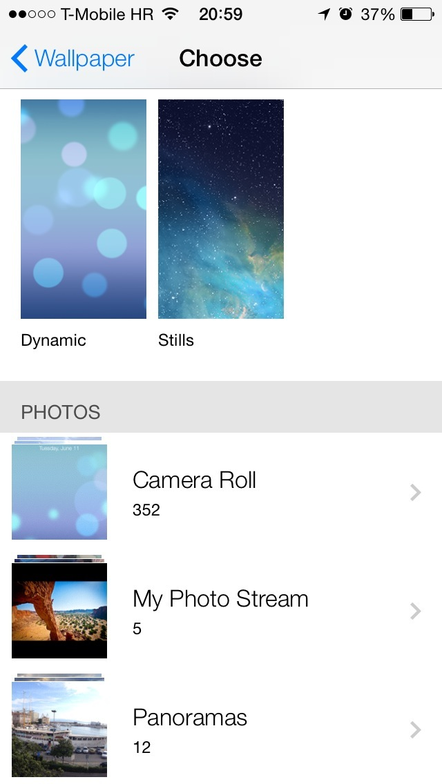 Dynamic Wallpapers iOS 7 640x1136