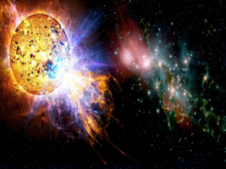 Supernova Explosion Wallpaper - WallpaperSafari
