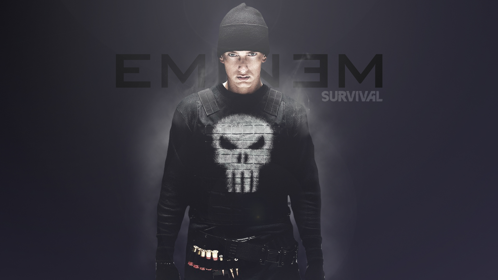 Eminem Slim Shady Punisher HD wallpaper music Wallpaper Better 1920x1080