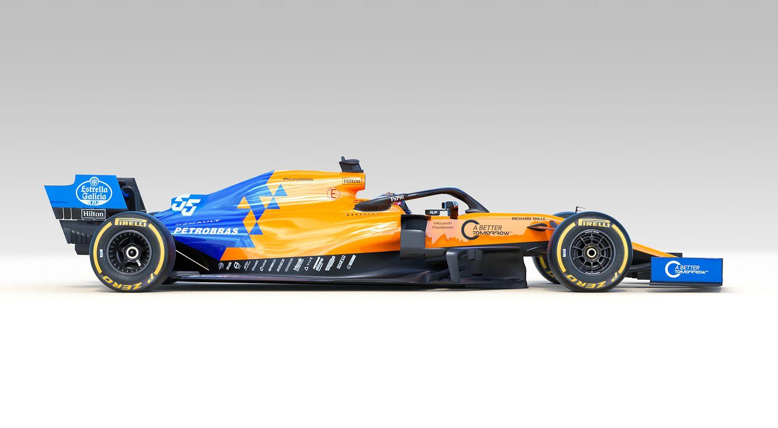 McLaren Formula 1   McLaren unveils MCL34 alongside new 2019 1600x880