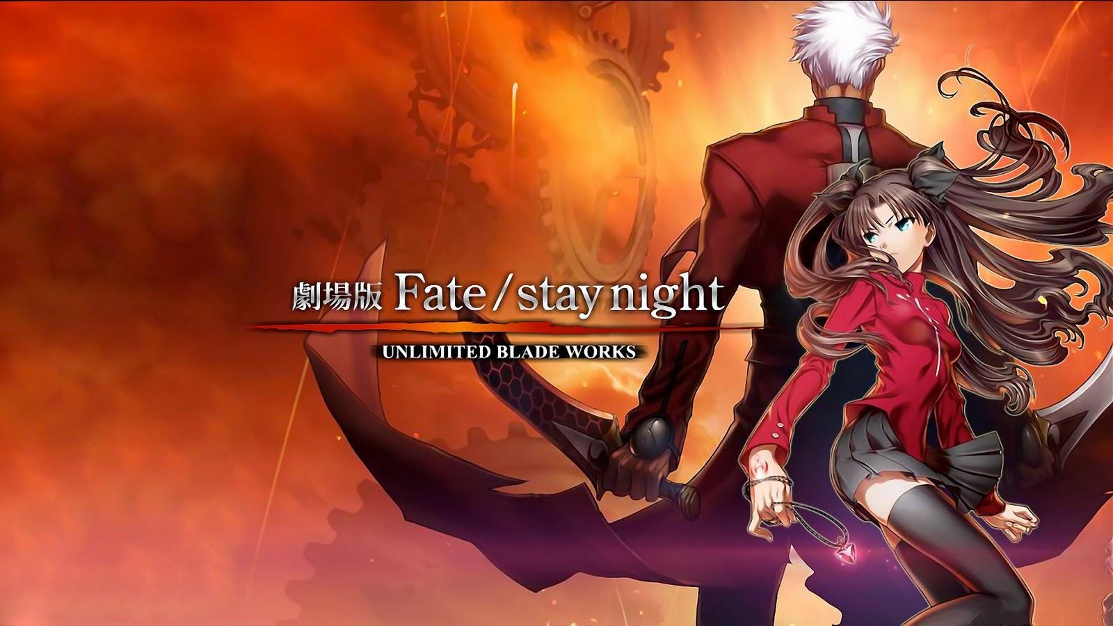 FateStay Night Unlimited Blade Works BD Subtitle Indonesia English 1600x900