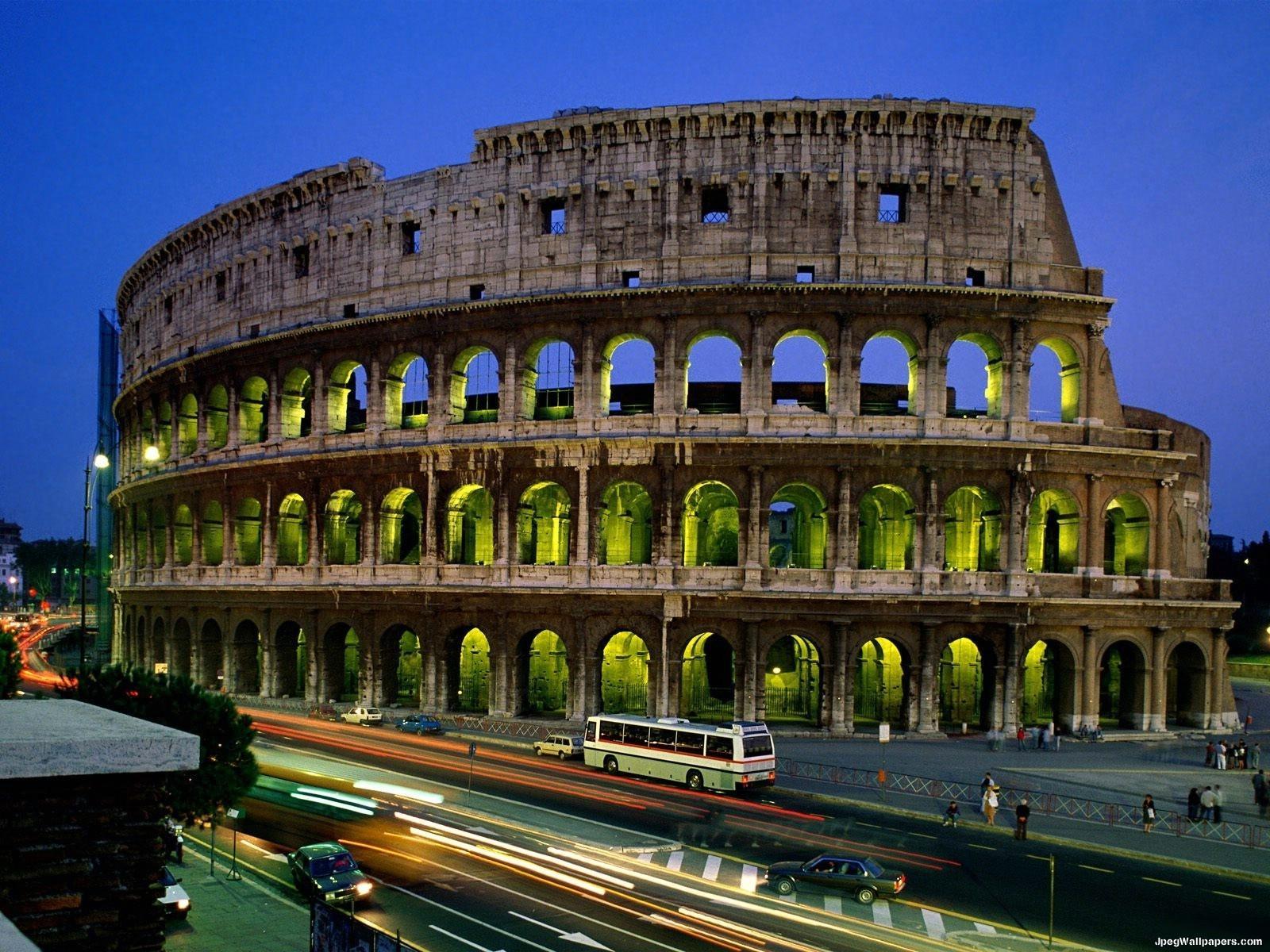 Colosseo Roma Italia wallpaper 1600x1200