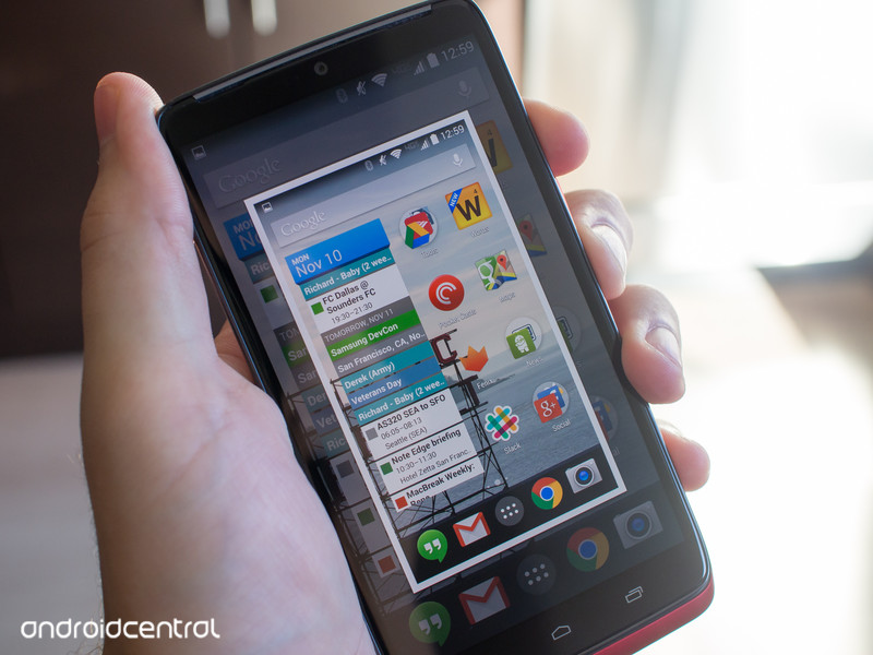 How to take a screenshot on the Motorola Droid Turbo Android Central 800x600