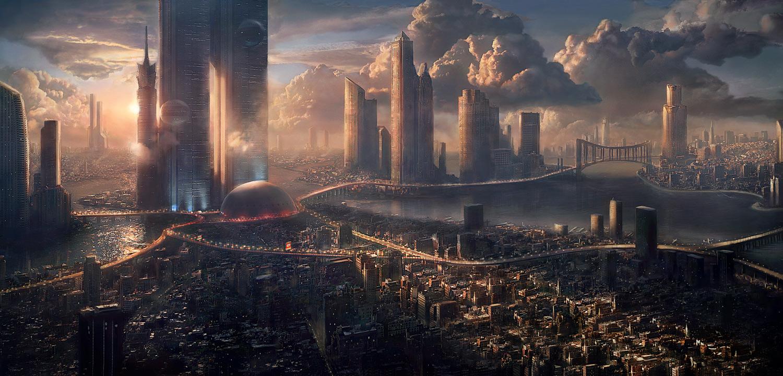 cityscapes futuristic wallpaper 1900x1041 - photo #9