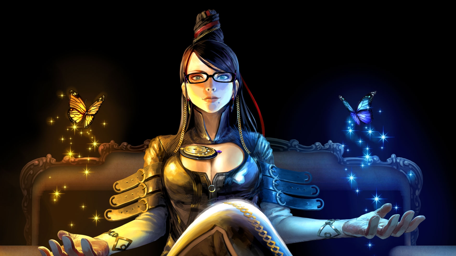 Bayonetta Background for Desktop 1920x1080