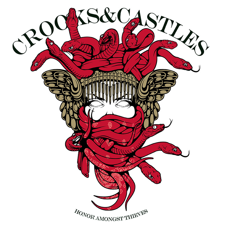 Crooks And Castles Wallpaper Brand crooks and castles 800x800