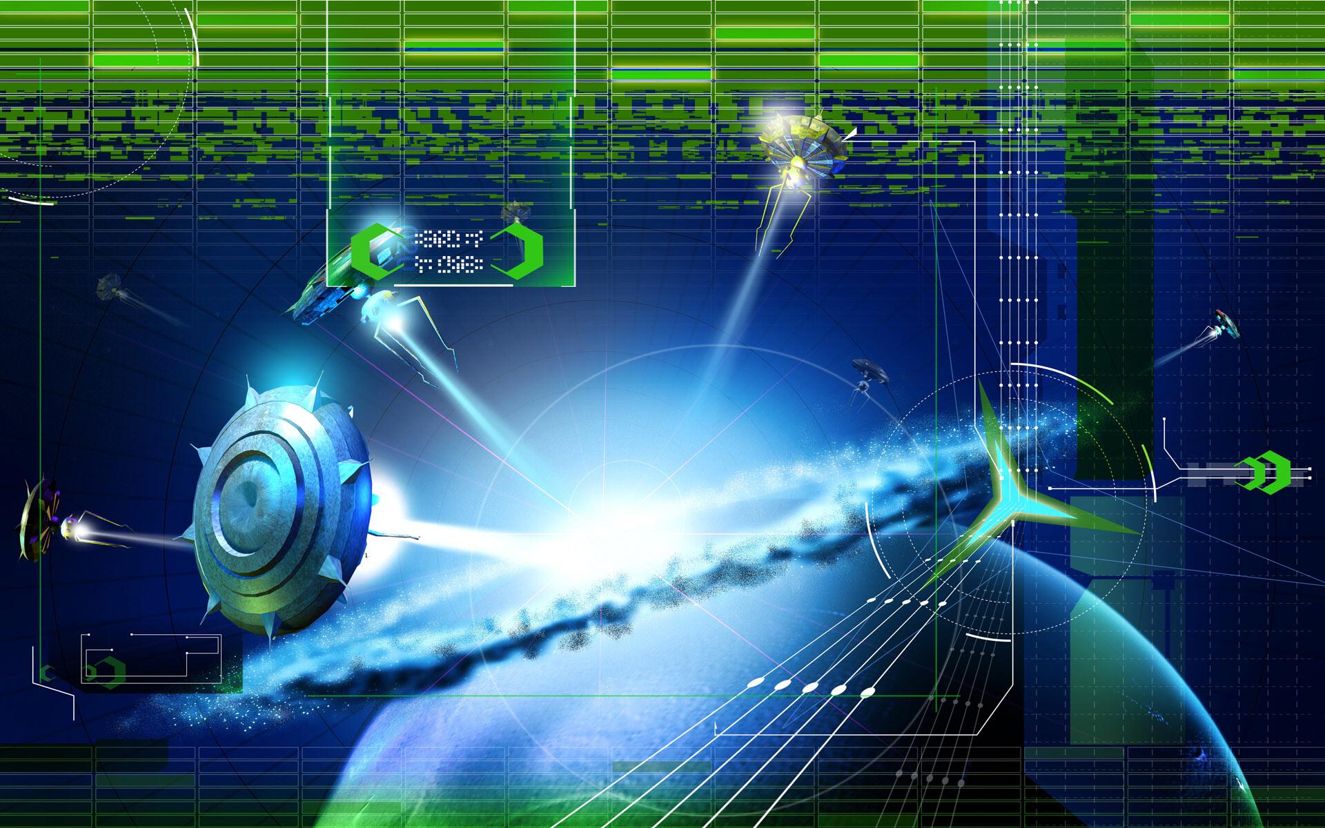 high definition technology wallpapers: High Tech Wallpaper HD