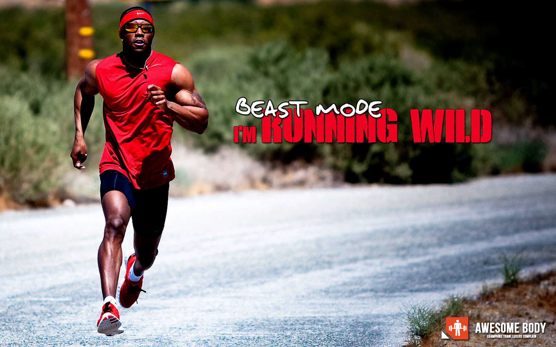 Running Wild Wallpaper Beast Mode Awesome Wallpapers 1920x1200