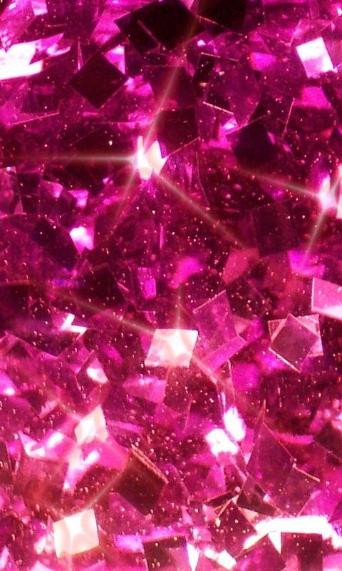 Pink Diamonds Live Wallpaper 10 screenshot 1 480x800