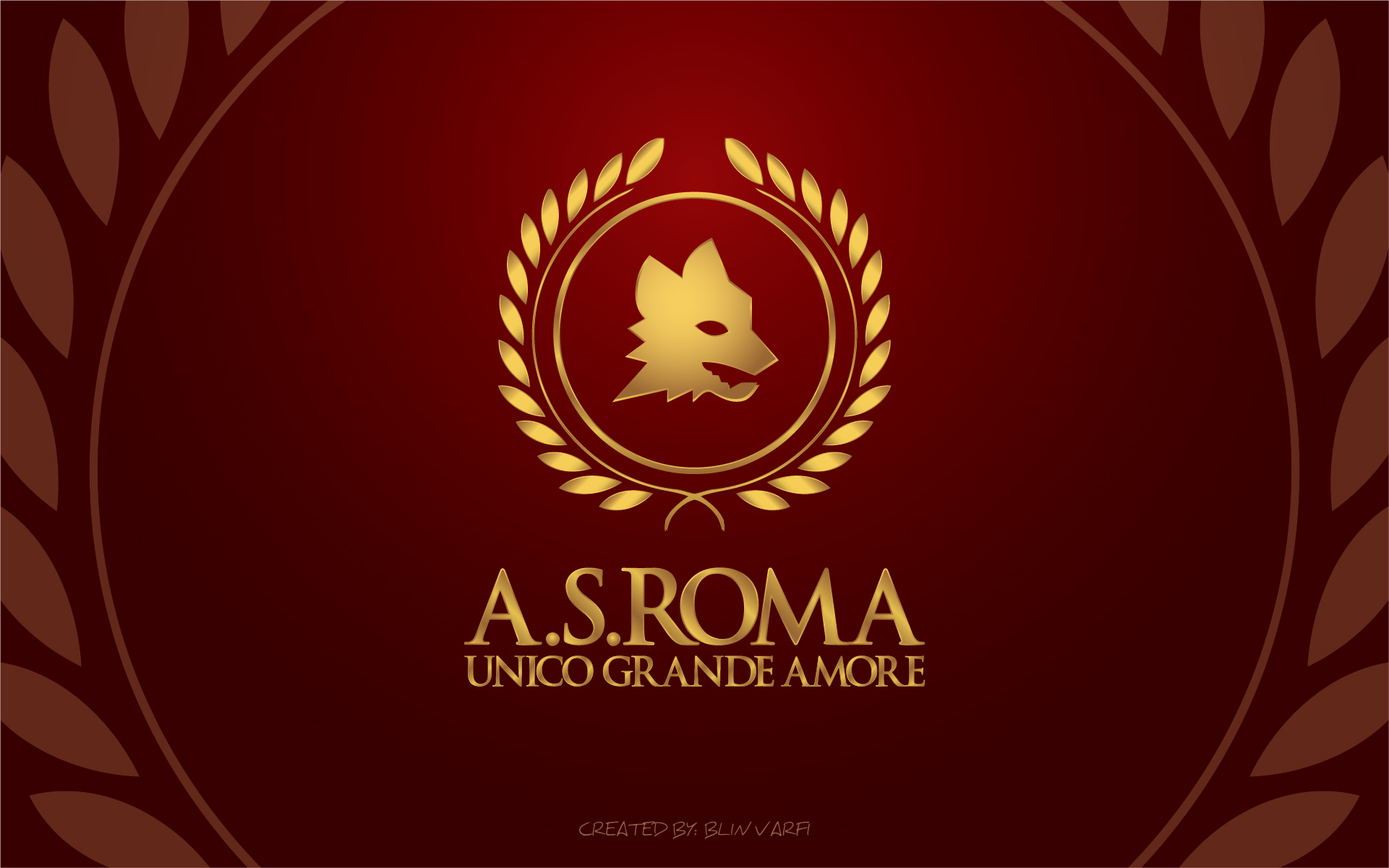 As Roma Wallpaper Logo Footballs 1921x1201