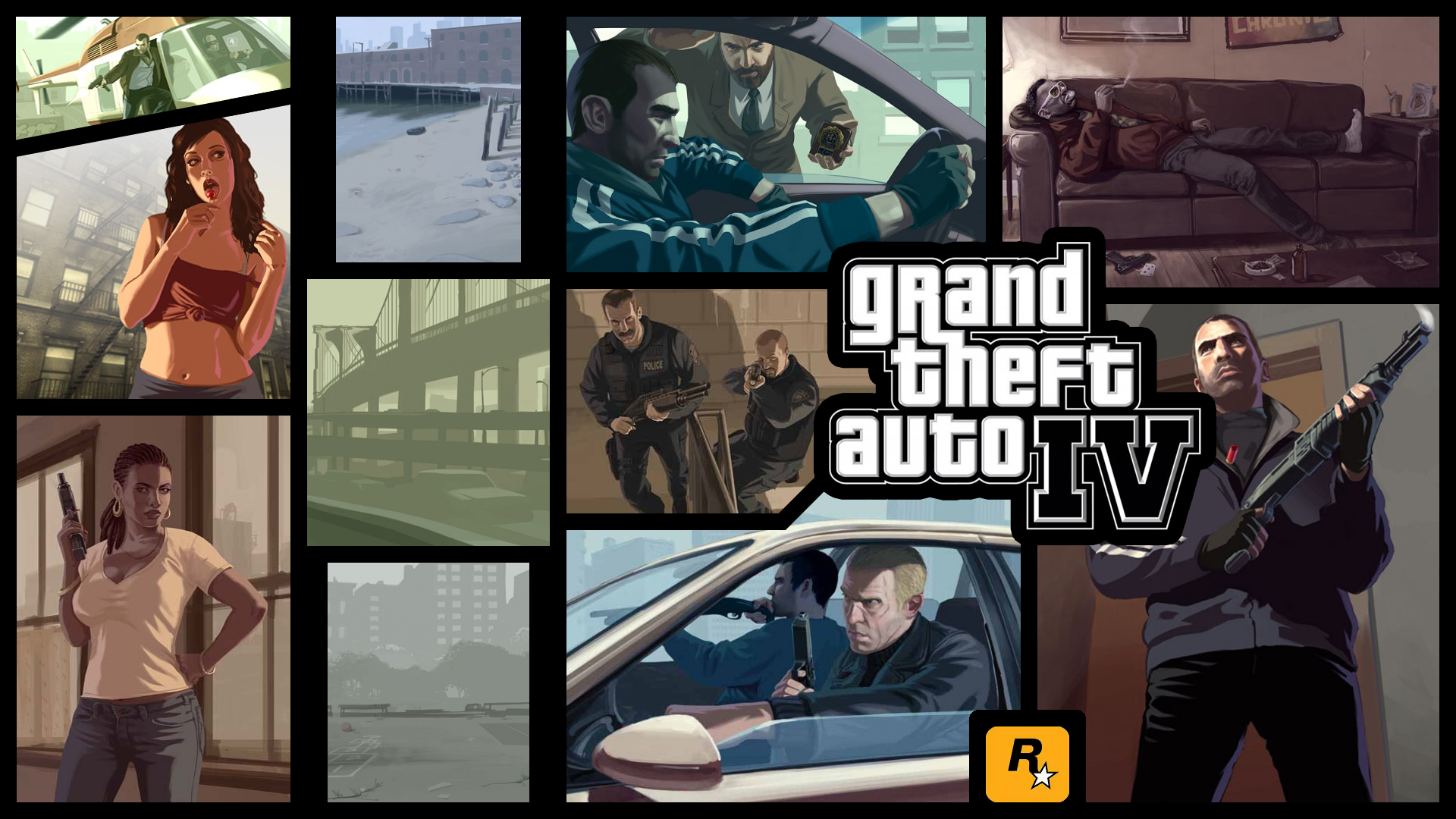 Grand Theft Auto IV Wallpaper - WallpaperSafari