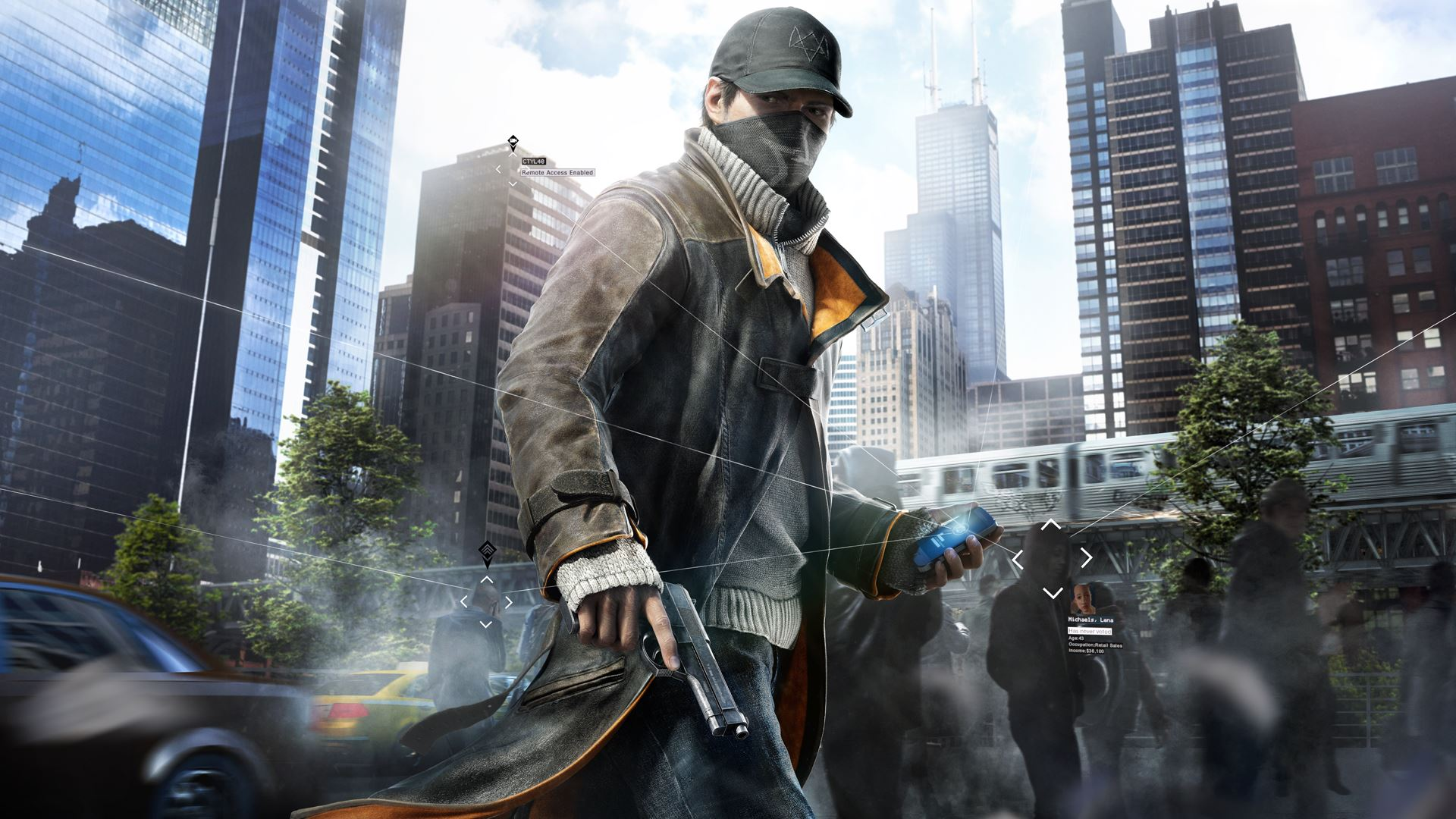 Watch Dogs Aiden Pearce Wallpapers HD Wallpapers 1920x1080