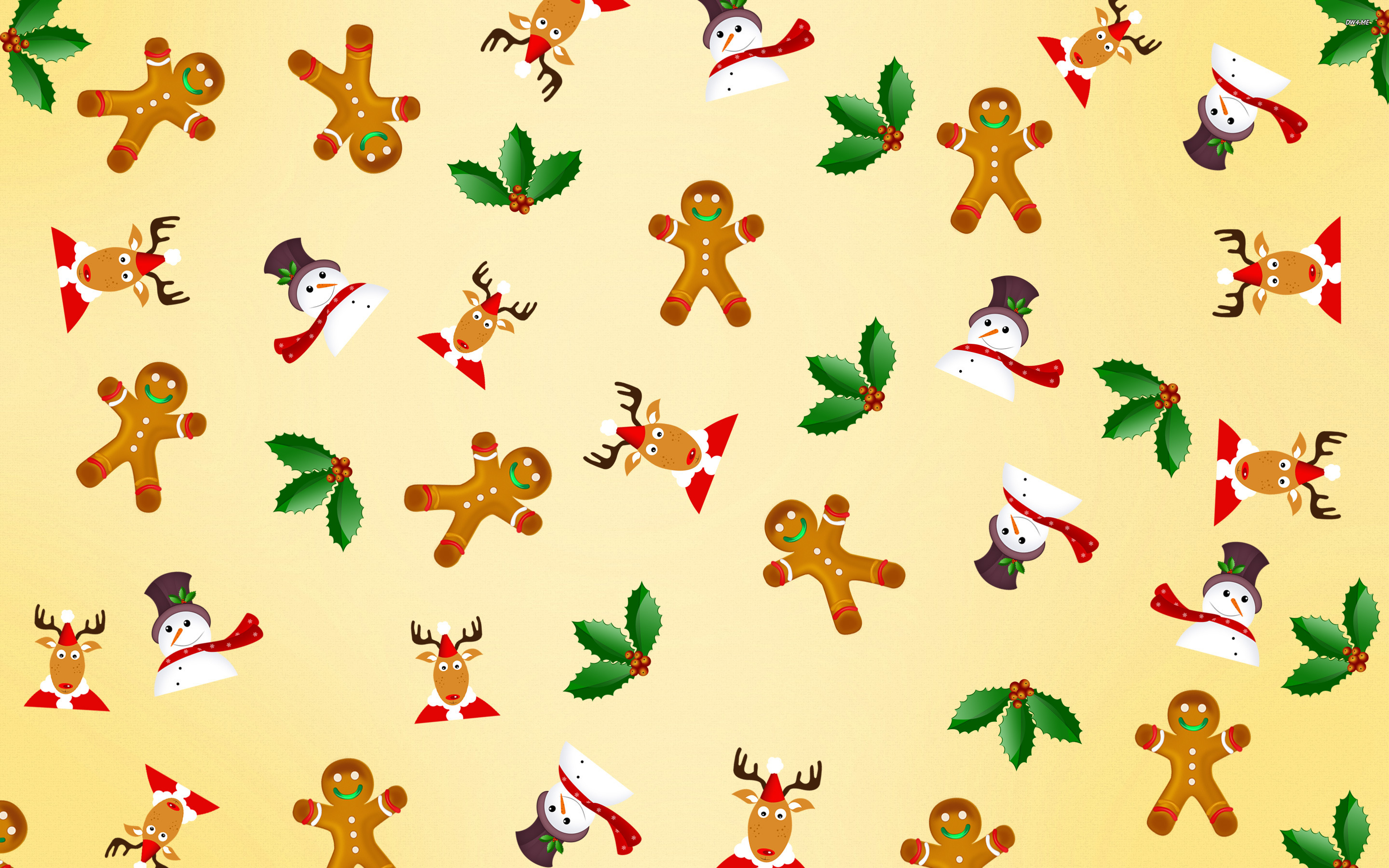 Christmas pattern wallpaper   Holiday wallpapers   1995 2880x1800