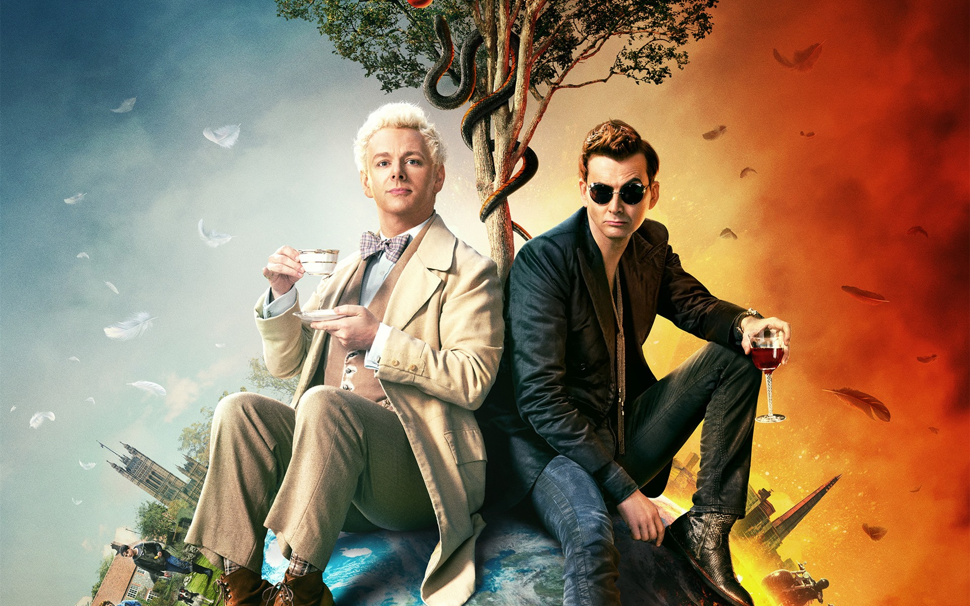 Wallpaper Good Omens 1920x1440 HD Picture Image 1920x1200