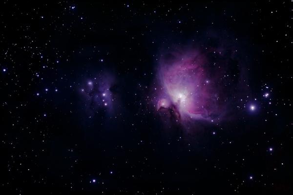 Purple Space Wallpaper - WallpaperSafari
