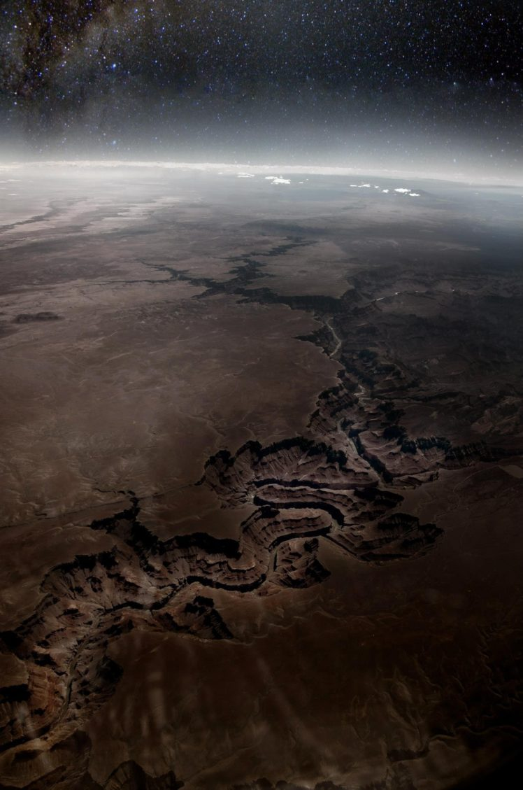 aerial view Earth Grand Canyon USA Arizona Canyon Horizon 748x1129