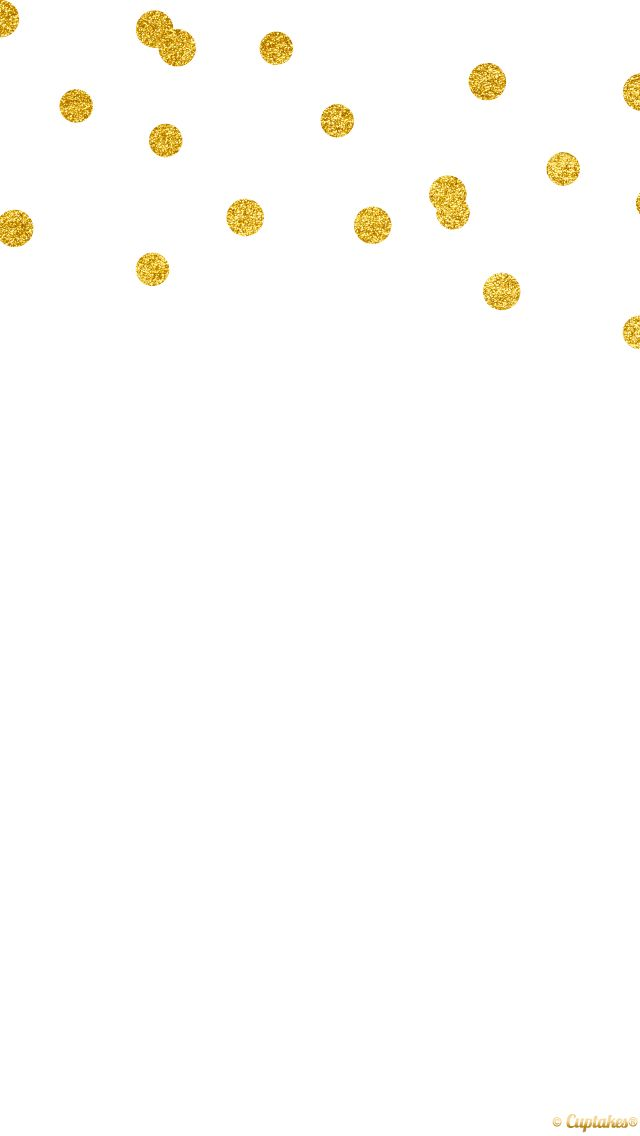 gold confetti spots dots iphone phone background wallpaper lock screen 640x1136