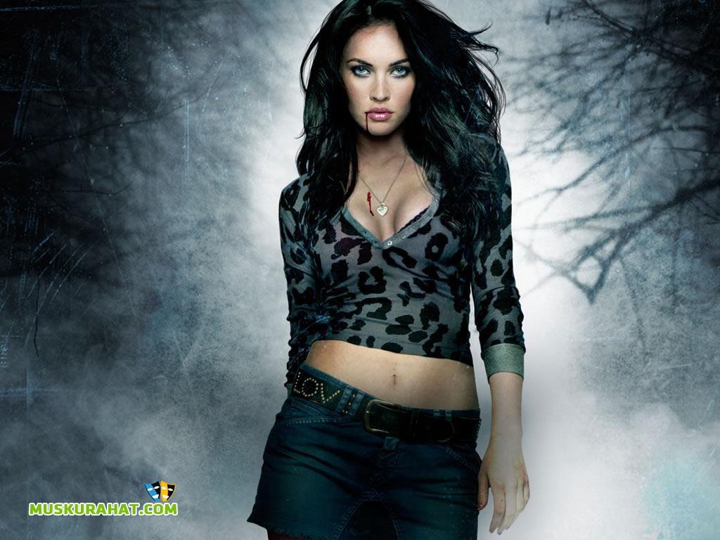Megan Fox Desktop Wallpaper 26472 Hollywood Celebrities Wallpapers 1024x768