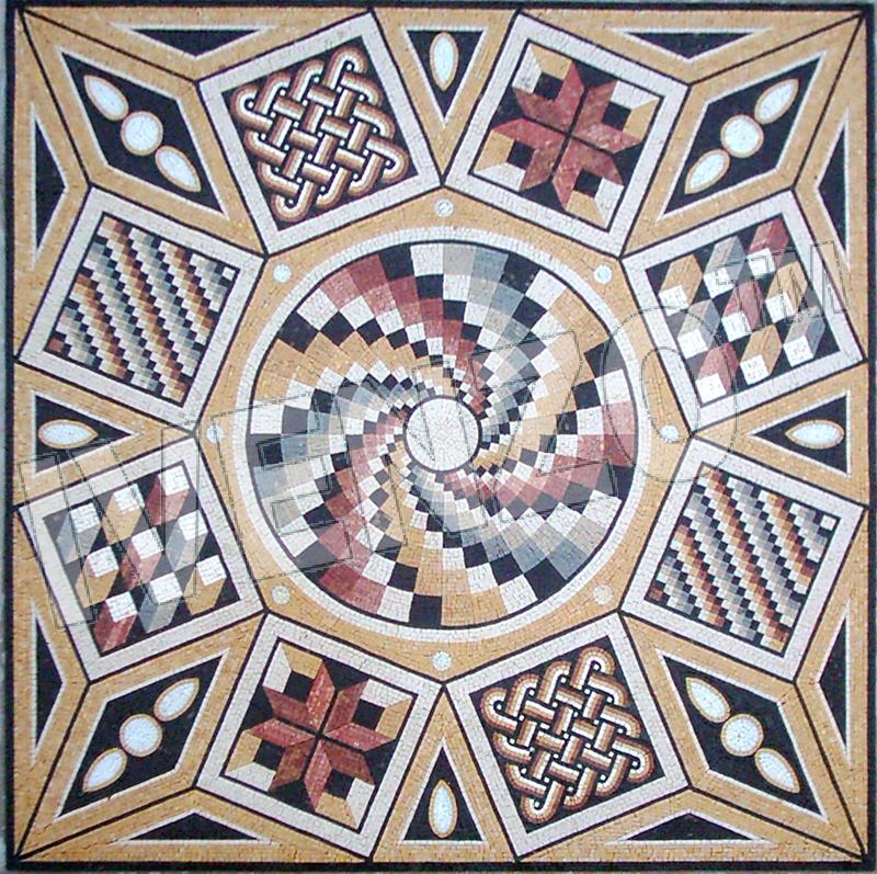 Pin Simple Roman Mosaic Patterns