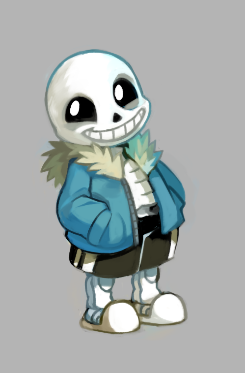 Free Download Sans By Extyrannomon 499x758 For Your