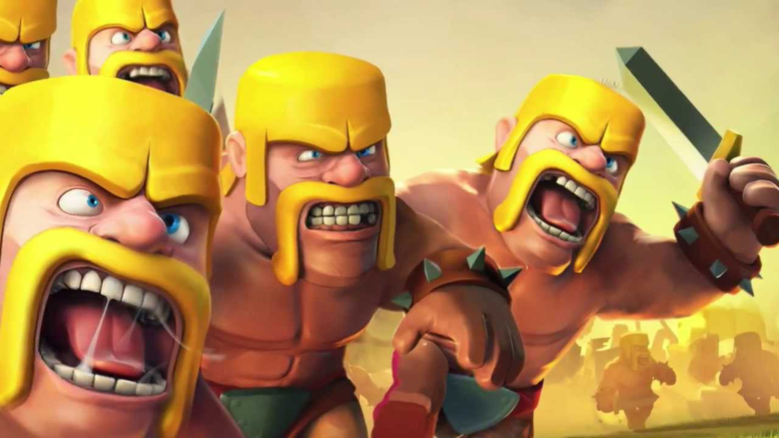 Clash of Clans Wallpaper Gaming Tools 2560x1440