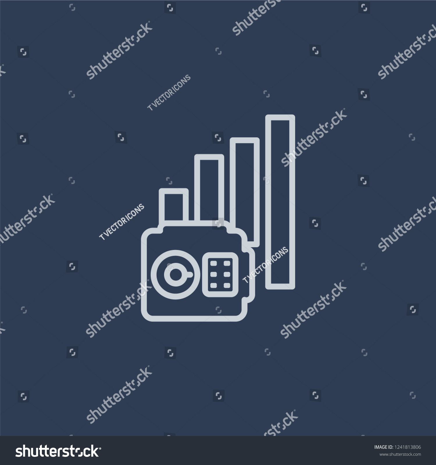 Annual Equivalent Rate AER Icon Annual Stock Vector Royalty 1500x1600