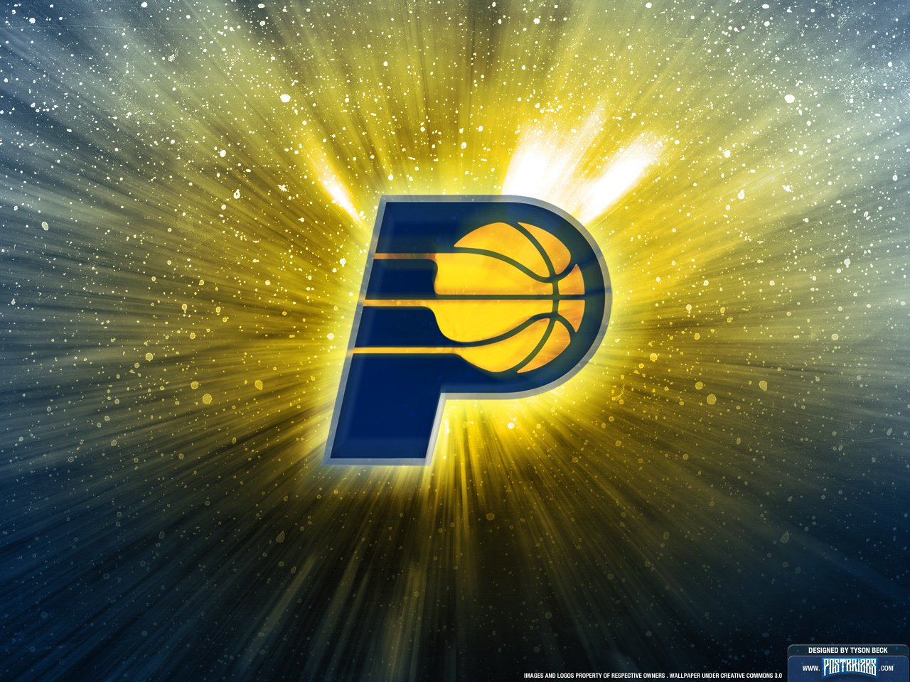 Indiana Pacers Logo Wallpaper Posterizes NBA Wallpapers 1280x960