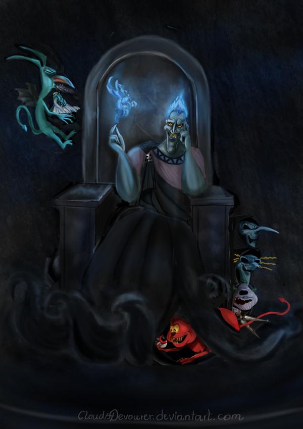 Hades Disney by CloudsDevourer 600x849